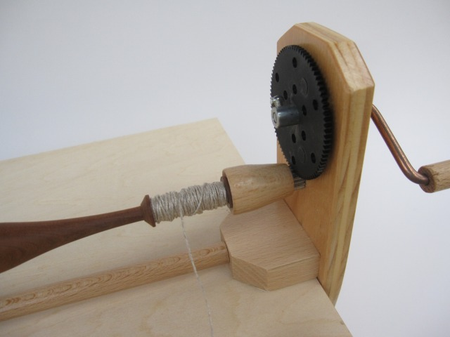画像1: ボビンレース 糸巻き器 (スピーディ) チェコ製 (1)