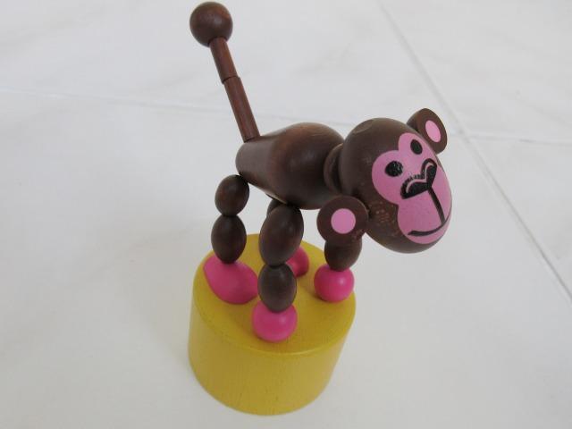 画像1: 起き上り人形 サル (1)